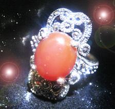 HAUNTED RING THE MASTER WITCH'S 7 MYSTICAL FIRES SECRET OOAK EXTREME  MAGICK  - $9,307.77