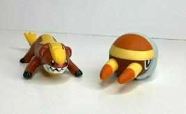 2 Pokemon 2017 McDonalds Toys Grubbin & Yungoos Sun & Moon Good Used Condition  - $8.66