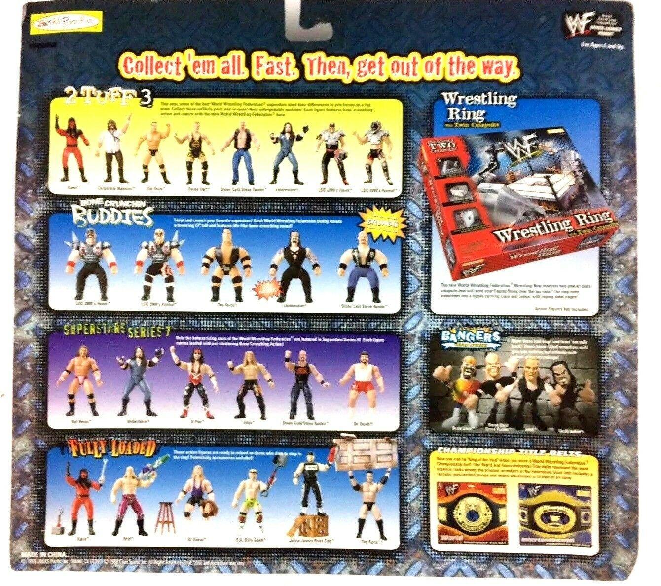 Road Dog vs Al Snow Grudge Match WWF WWE Jakks Action Figure 1998 Sealed