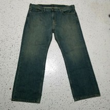 Levi Stauss 559 Men's Denim Jeans ~ Sz 40L 30W ~ Blue ~ Straight Leg - $24.74