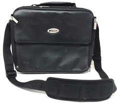 Targus Laptop Black  Computer Messenger Laptop Bag w/ Shoulder Strap - $17.99