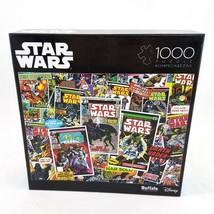 Buffalo Disney Star Wars Comic Book Theme Jigsaw Puzzle 1000 Pieces NEW ... - $14.84
