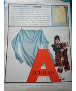 McGregor Sportswear Acrilan Magazine Print Advertisement 1940s - $4.99