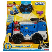 Fisher-Price Imaginext DC Super Friends RC Mobile Command Center DTM79 NEW - $79.19
