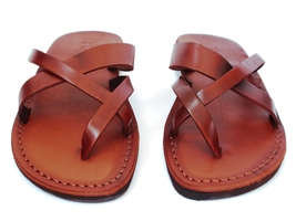 Leather Sandals for Women XSTRAP by SANDALIM Biblical Greek Roman Sandals - $40.36 CAD+