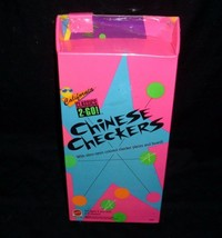 New Sealed Vintage 1992 Mattel California Classics 2 Go Checkers Chess Toy Game - $23.38