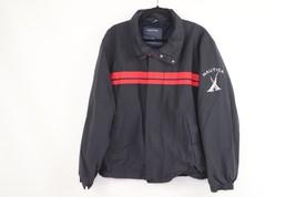 Vintage 90s Nautica Mens XL Spell Out Sailing Full Zip Windbreaker Jacke... - $64.30