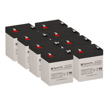 Apc SRT3000RMXLA Ups Replacement Battery Set By SigmasTek- 12v 5.5AH - $139.15