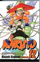 Naruto 12 The Great Flight Masashi Kishimoto Manga Graphic Novel Shonen ... - $5.00