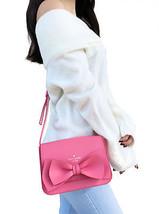 NWT Kate Spade Vanderbilt Place Hanni Small Crossbody Guava Pink Bow Min... - $119.99
