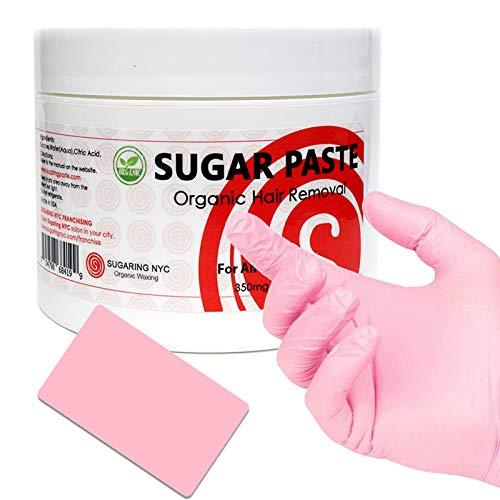 Sugar Paste Organic Waxing for Bikini Area and Brazilian + Applicator and Set of