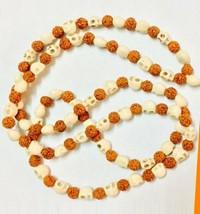 Rudrakash mund mala Rosary beads Prayer beads Japa mala Religious mala - $37.98