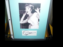 CONNIE STEVENS Genuine Signature Autograph With COA. Matted And Ready Fo... - $35.00