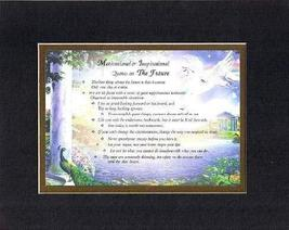 Compilation of Motivational & Inspirational Quotes on The Future - 8 x 10 inches - $15.79