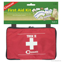 Coghlans Trek II First Aid Kit Camping Outdoor First Aid Kit 40 Components - $27.83