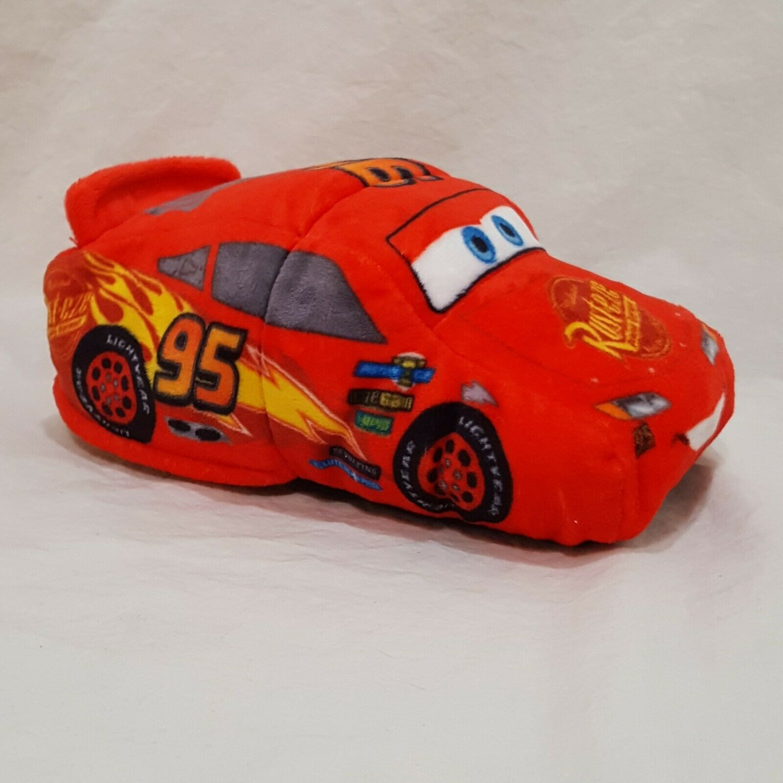 "Disney Cars 3 Reversible Lightning McQueen Cruz Car 8"" Plush Stuffed Toy"