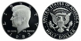 1983 S Proof Kennedy Half Dollar CP2022 - $4.73
