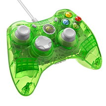 PDP Rock Candy Wired Controller for Xbox 360 - Aqualime - $43.52