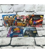Adventure PC Game Lot Of 5 Includes King Kong, Zoo Tycoon, I Spy, And More - $19.79
