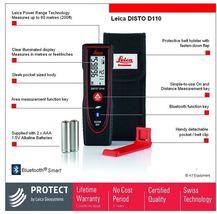 LEICA Disto D110 Laser Distance 60 Meter Range Finder With Bluetooth image 4