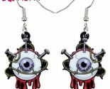 Acrylic Halloween Horror Eyeball Drop Earrings