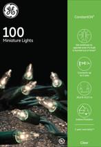 G.E String-A-Long Constant ON 100 Mini Christmas Lights 20.6ft Lighted L... - €11,29 EUR