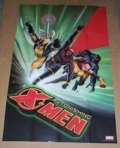 36 x 24 Marvel Comics Astonishing X-Men promo poster: Wolverine/Cyclops/3 x 2 ft - $29.69