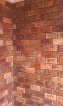 """15 Antique Brick Molds 4x8x.5"""" wall, floor patio counter #923 US Made Ships Fast image 3"""
