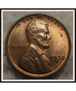 1938-D 1C Lincoln Wheat Cent (Unc.) - $7.95