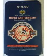 2003 New York Yankees 100th Anniversary Commemorative Card Set 1 - 30 in... - $16.49
