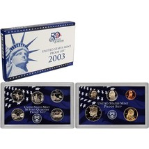 2003-S Proof Set United States US Mint Original Government Packaging Box... - £11.26 GBP