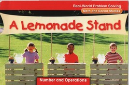 A Lemonade Stand - Real-World Problem Solving - SC McGraw-Hill 978-0-02-... - $1.35