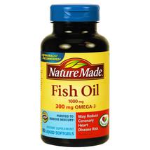 Nature Made Fish Oil - 90 Liquid Softgels - $17.73