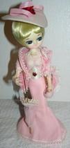 "Vintage Bradley Paper Mache Bradley Pink Lady Doll 12"" - $48.06"