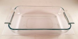 Vintage Pyrex de Corning France Casserole Dish with Curved Handles 236 M - $13.96