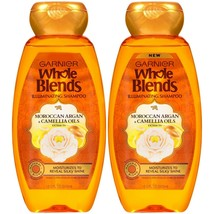 2 Pack Shampoo With Moroccan Argan & Camellia Oil Extracts, For Dry Hair 12.5 Oz - $19.80