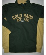 Colorado State University Rams 1/4 Zip Jacket Champion Quarter Zip Pullo... - $24.70