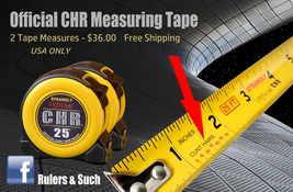 Official ©unt Hair Tape Measure 2  - 2 Pack Deal - $36.00