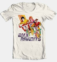 BMX Bandits Movie T-shirt Free Shipping 80s retro movie 100% cotton tan tee image 2