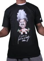 Rocksmith New York Nero da Uomo Nuovo Soldi Denaro È King Troll T-Shirt Nwt
