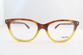 Prada VPR 14R TKU-1O1 Light Havana New Authentic Eyeglasses 52mm Square ... - $42.99