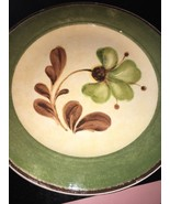 pier one sofie green flower plates bundle of 3 - $39.59
