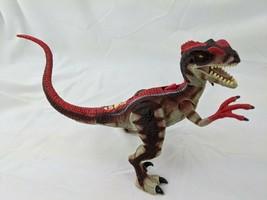 "Hasbro Jurassic Park Velociraptor Dinosaur Figure 5"" 2000 Sounds Work - $29.95"