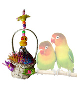 Happy Chick Foraging Basket for Small to Medium-sized Birds - £11.93 GBP