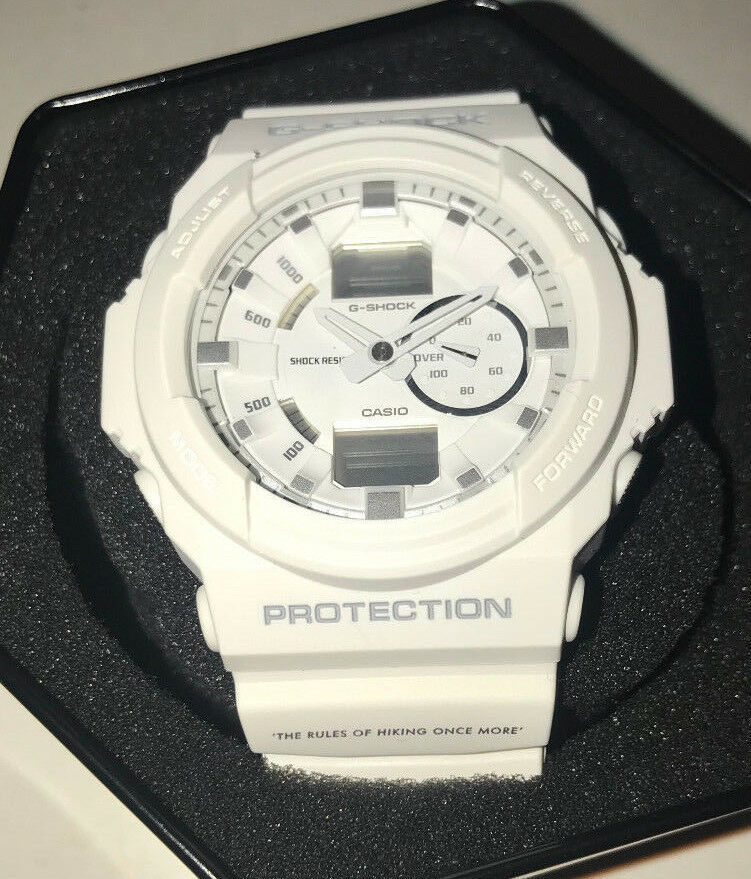 Primary image for Casio G-Shock x Garbstore GA150 White Watch Wristwatch needs new battery