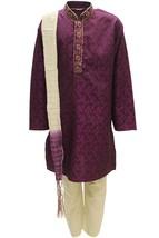 Krishna Sarees BYK3177 Magenta and Ivory Boys Kurta Pyjama Indian Fancy ... - $26.43+