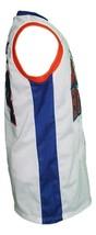 Harmon Tedesco #1 Blue Mountain State Basketball Jersey Sewn White Any Size image 4
