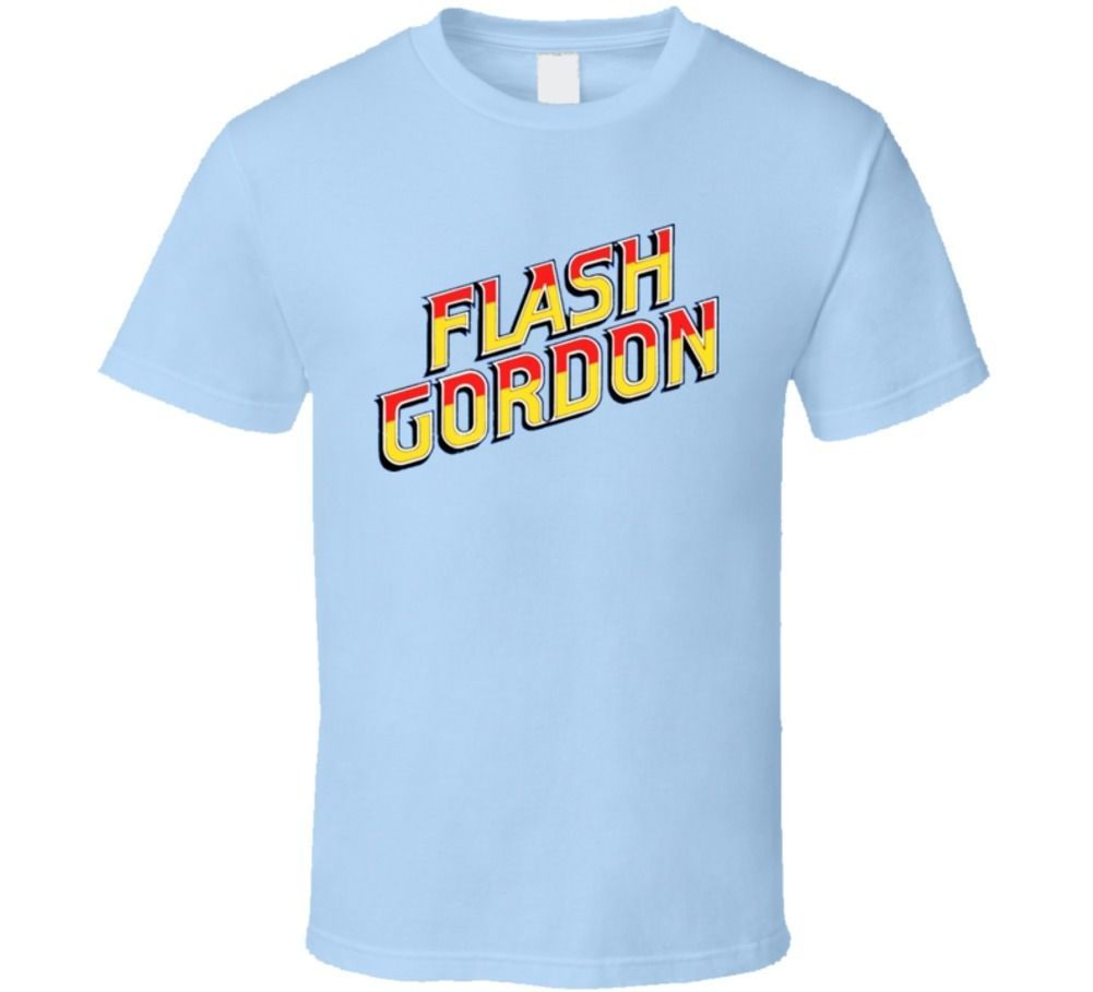 Primary image for Flash Gordon Comic Classic Logo T Shirt