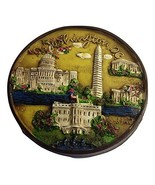 Washington DC Panoramic 3D National Mall Wood Fridge Magnet- Washington ... - $6.99