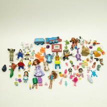 Mixed Lot of Small Figures Pieces Toys Disney Pixar Thomas and More 75+ - $11.75